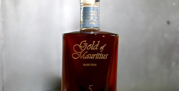 Gold of Mauritius Solera 5 ans - 70cl