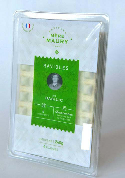 6 bq de 4 pl Ravioles au Basilic = 3,85€ la barquette
