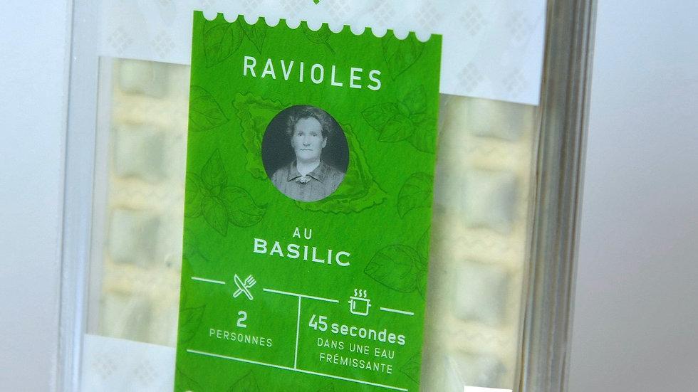 Ravioles au Basilic - 18 x 4 plaques (3,33€ la barquette)