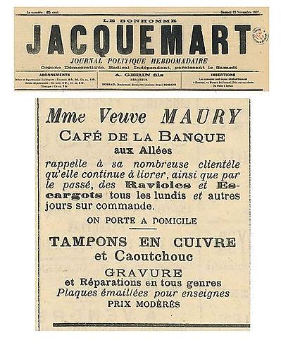 Les Ravioles Mère Maury , ravioles traditionelles de la Drôme également appelées raviole du Dauphiné. Découvrez notre gamme de ravioles artisanales fabriquées traditionnellement et profitez de nos recettes de ravioles de Romans. Mère Maury, fabrique de ravioles traditionnelles Drôme (26)