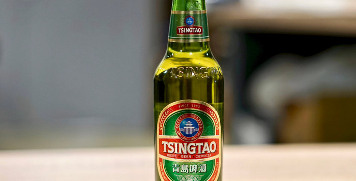 Tsingtao Chine - Blonde - 33cl