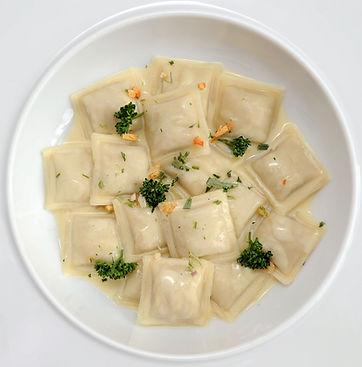 ravioles-assiette-herbes.JPG