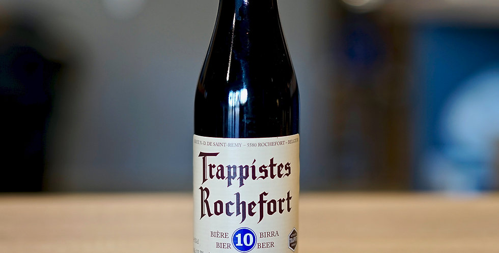 Trappistes Rochefort 10 - Brune - 33cl