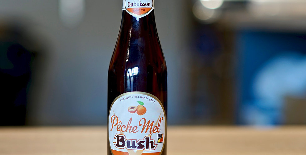 Pèche Mel Bush - Ambrée Fruit - 33cl