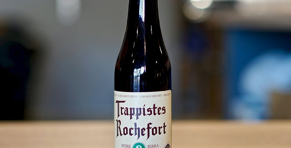 Trappistes Rochefort 8 - Brune - 33cl
