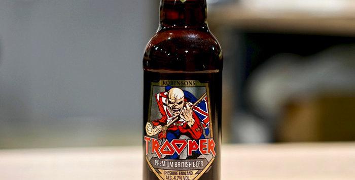 Iron Maiden Trooper - Blonde - 50cl