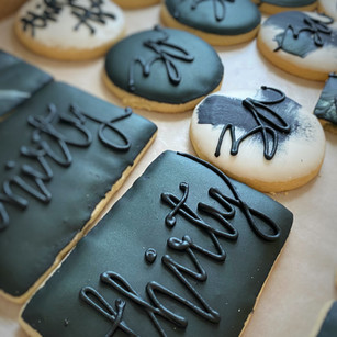 Custom iced cookies