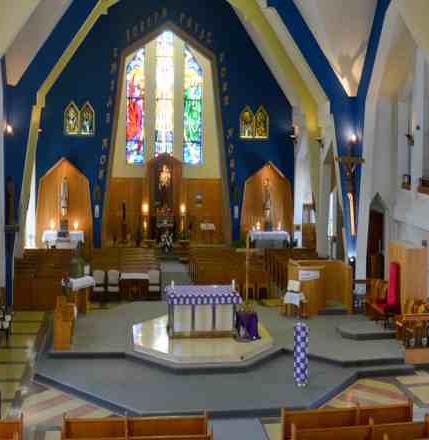 Activité de levée de fonds dans la Cathédrale St-Joseph