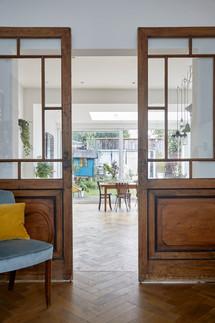 reclaimed sliding doors