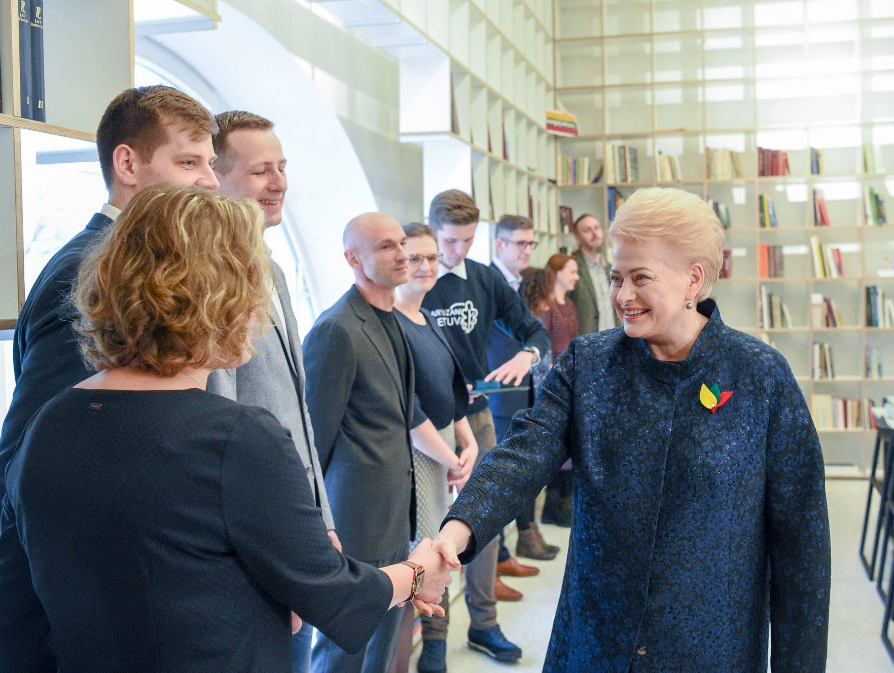 Susitikimas su Prezidente Dalia Grybauskaite