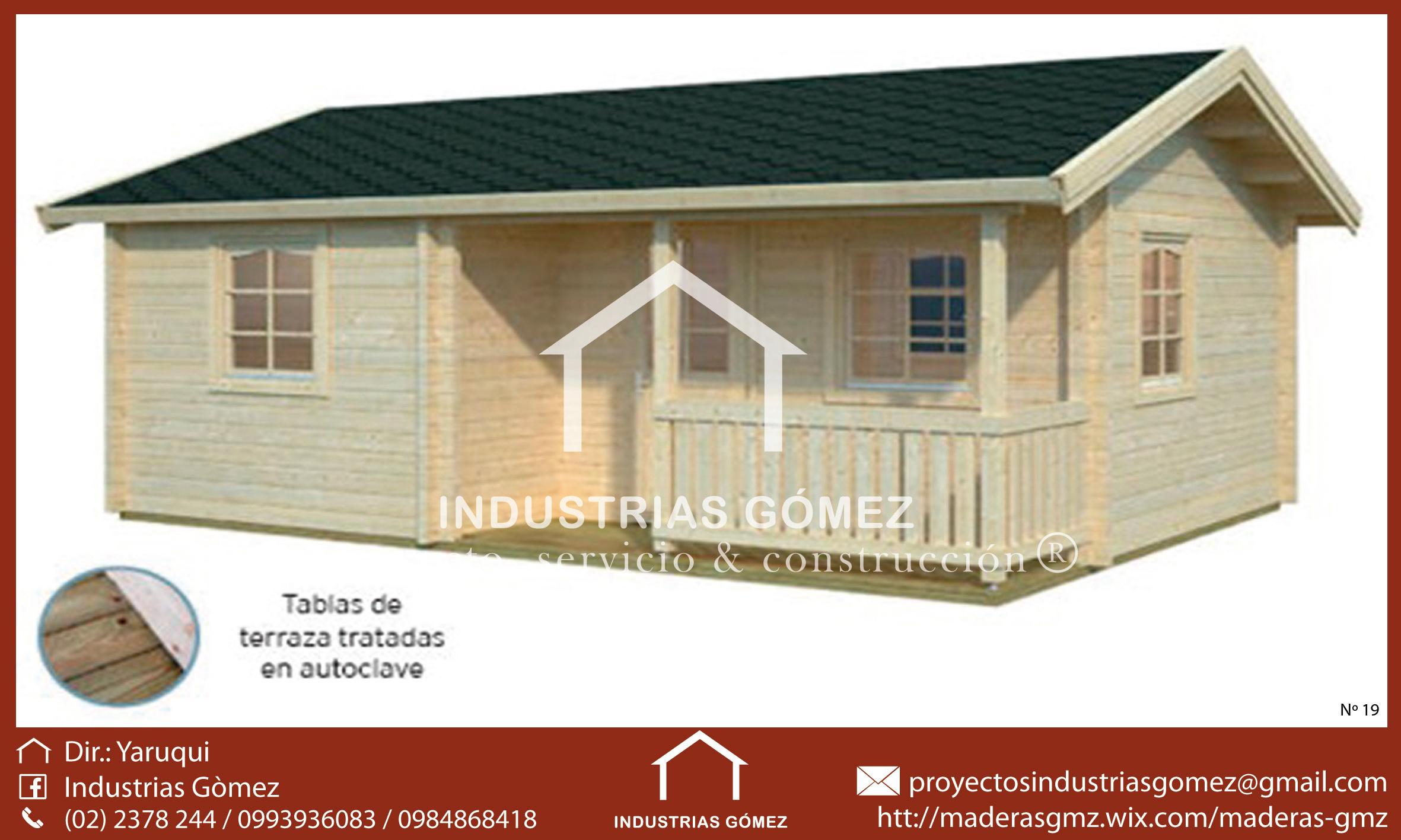Casas De Madera Industriasgomez
