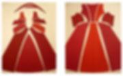 la coupe d'une robe