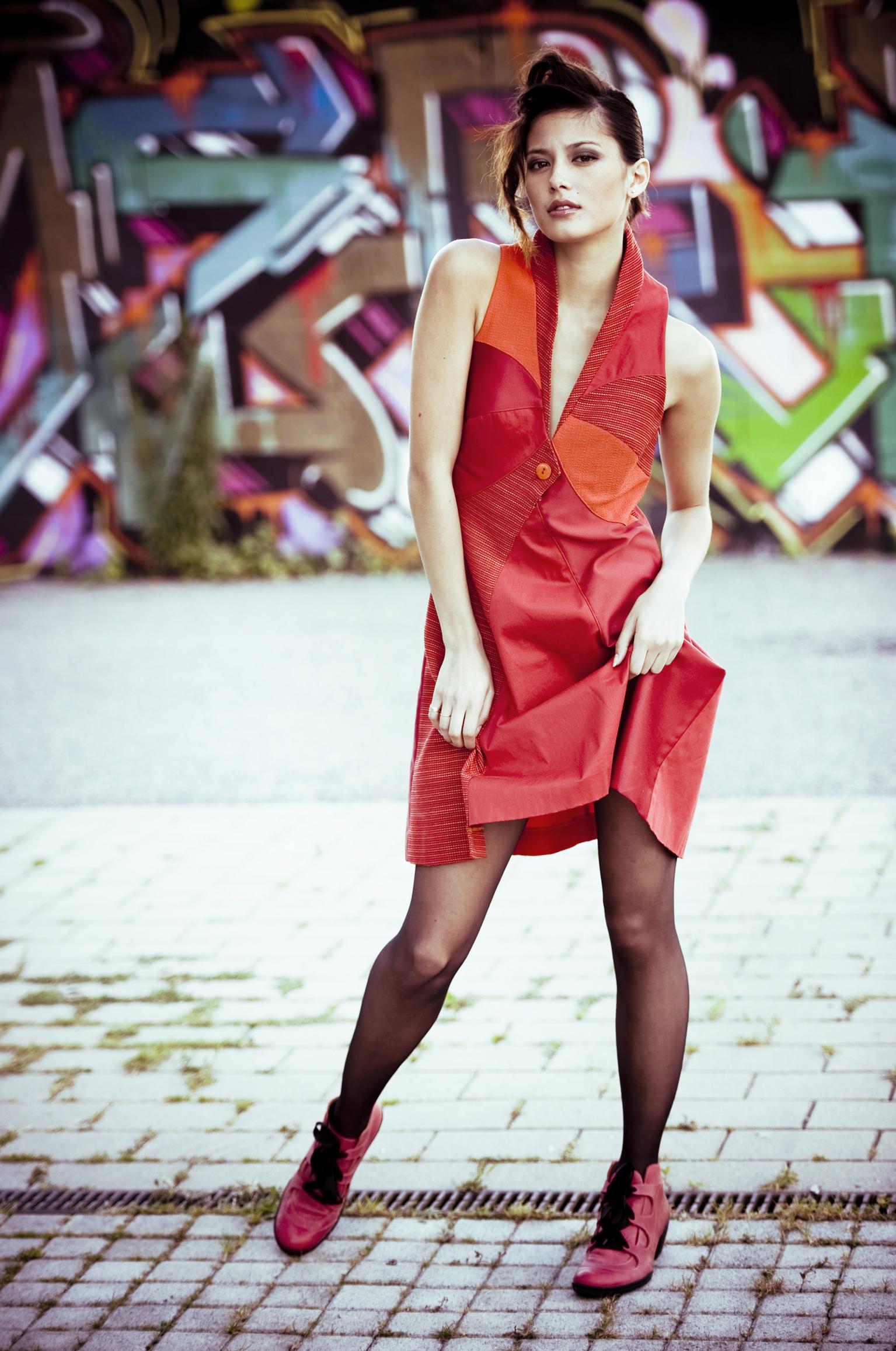 robe col V