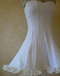 robe corsetée de mariée