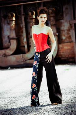 corset et pantalon large