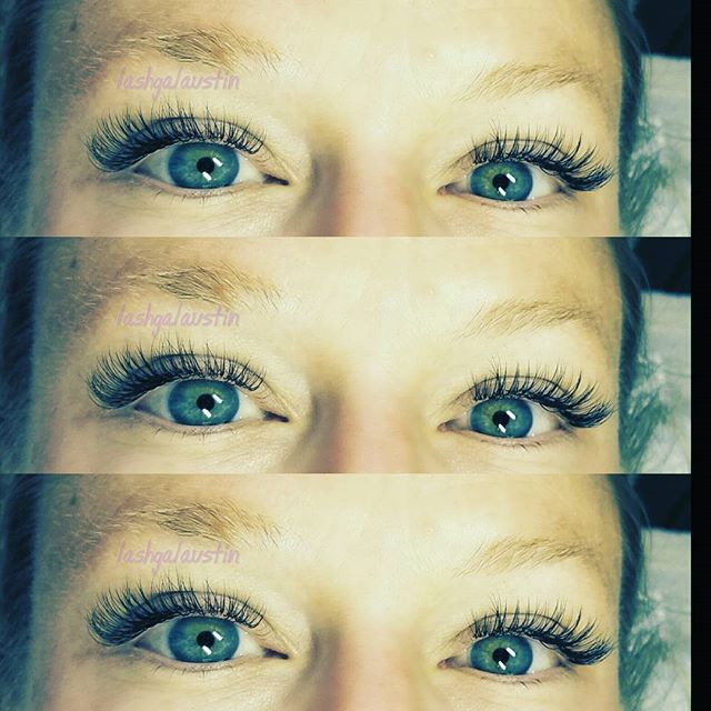 I haven't done classic lashes for a year!! I never thought I would say I miss them!! So classy and b