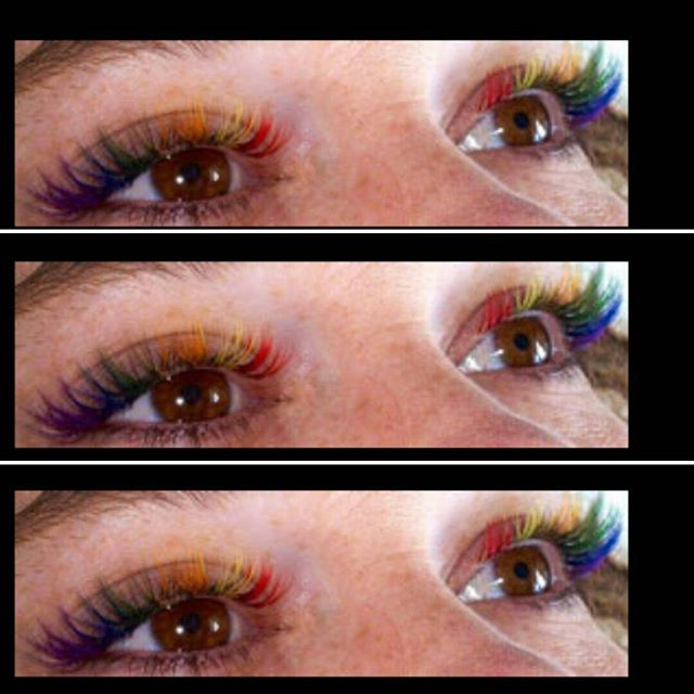 Halloween is coming up!!! I will be posting more colored Lashes this next week...