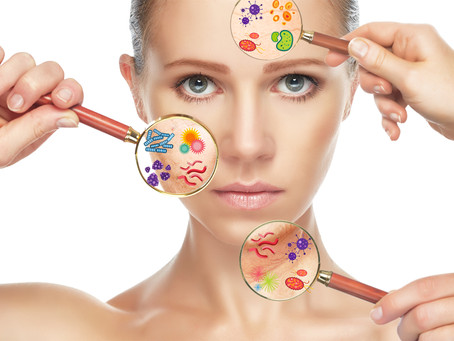 Are you surprised? Your skin needs good bacteria!