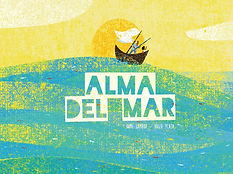 Libro Alma del mar, Amanuense, Cantacuentos en casa, ANII