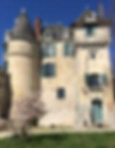 chateau de la celle guenand bedroom