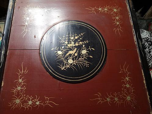 Maravilloso mantón antiguo con su caja original