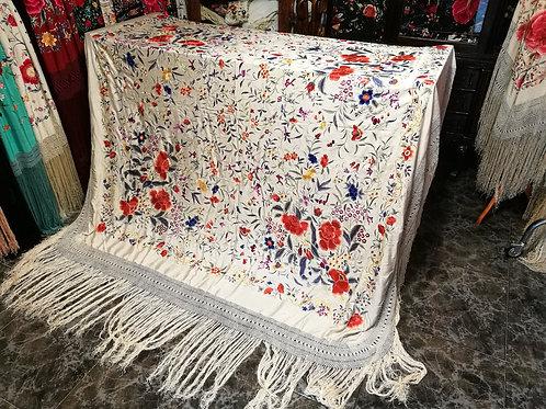 Maravilloso mantón antiguo