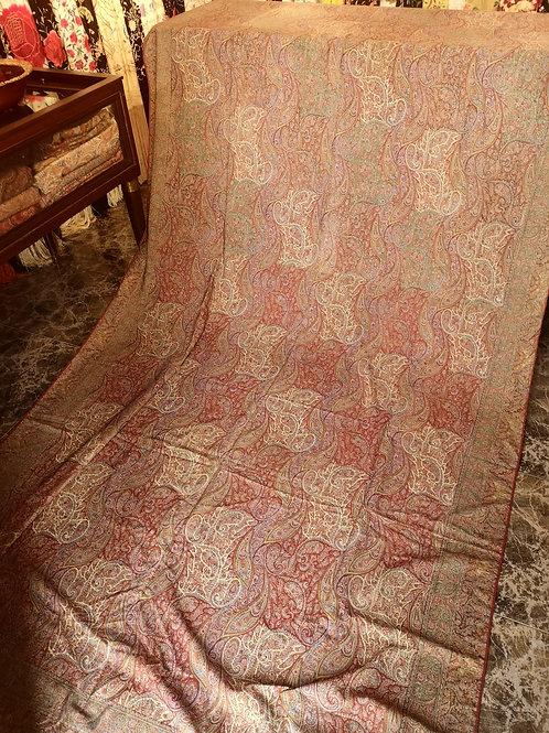 Mantón antiguo ocho puntas