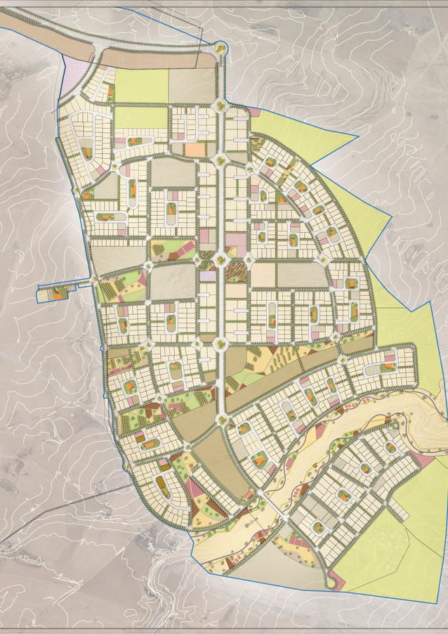 תב״ע שכונת ביר אל חמאם