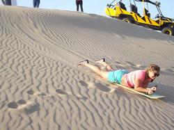 Sandboarding en Ica / Sandboarding in Ica