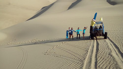 Desierto de Paracas / Paracas desert