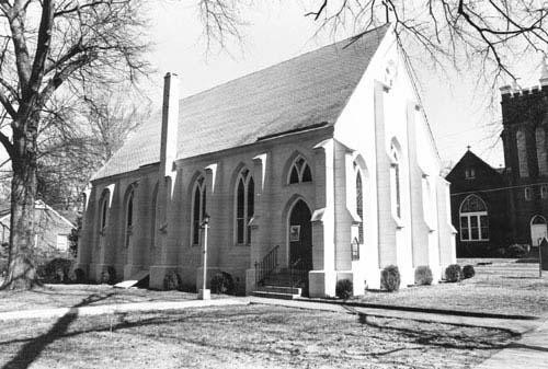 St. Luke's Episcopal Church in the 1950s