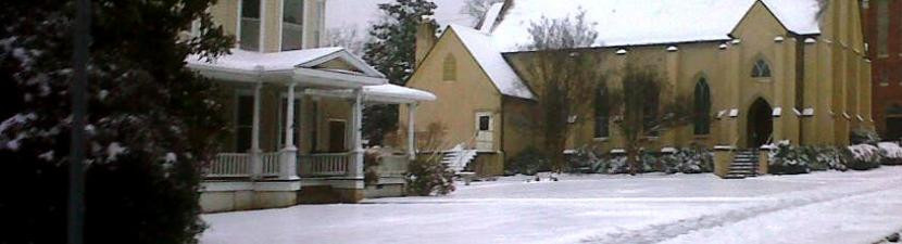 Church and Parish House in Snow-Susan.jp