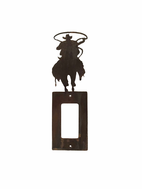 Cowboy Roper (Rocker) Switch Plate Cover