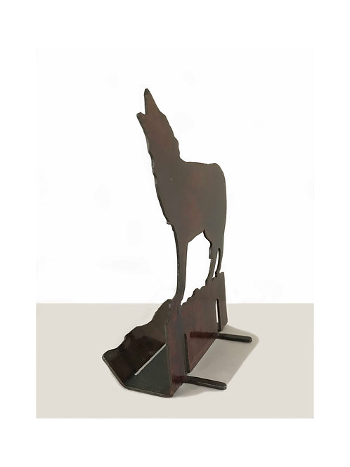 Wolf Business Card Holder