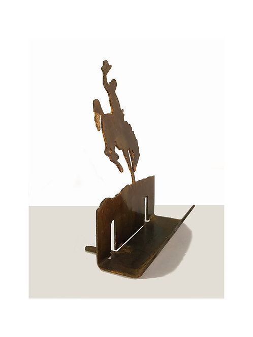 WYO Cowboy Business Card Holder