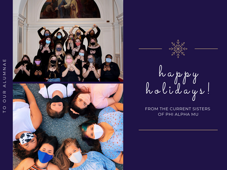 Happy Holidays to Our Alumnae