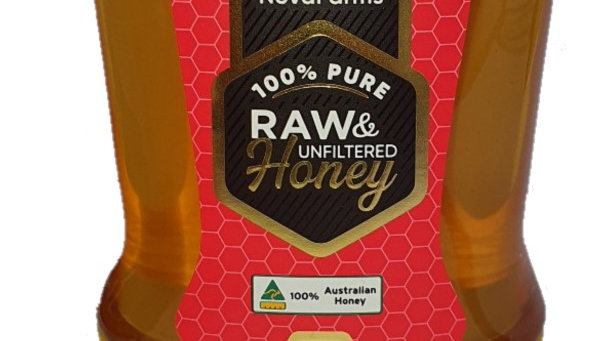 Raw and Unfiltered Honey 360g