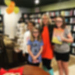 These girls made today's book signing wo