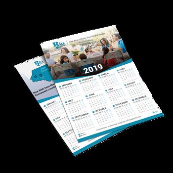 Poster Calendars for Rio Bank