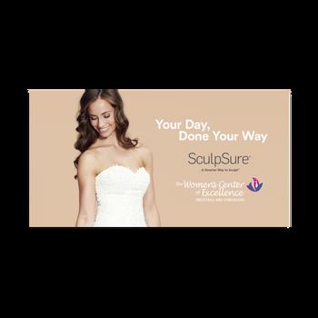 Wedding Facebook Ad for Women's Center of Excellence