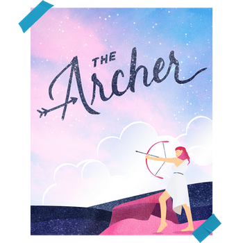 """""""The Archer"""" Concept Poster for Taylor Swift"""