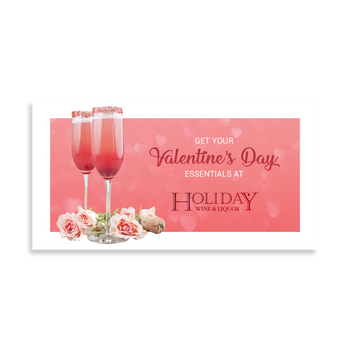 Valentine's Day Facebook Ad for Holiday Wine & Liquor