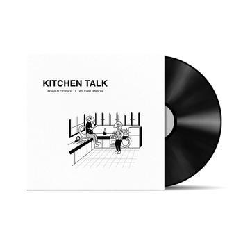 """""""Kitchen Talk"""" Single Artwork for Noah Floersch and William Hinson"""