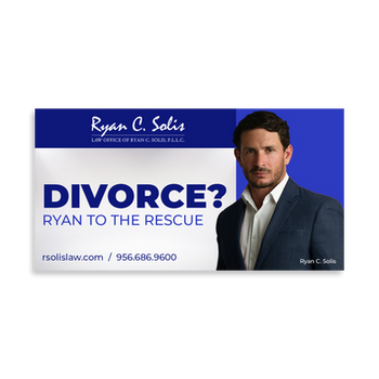 Divorce Facebook Ad for Ryan C. Solis Law Firm