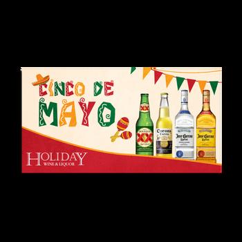 Cinco de Mayo Facebook Ad for Holiday Wine & Liquor