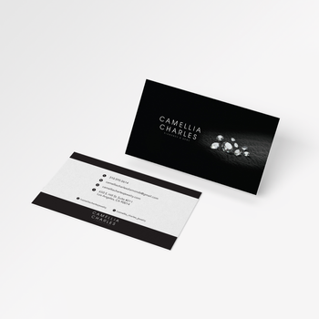 Business Cards for Camellia Charles