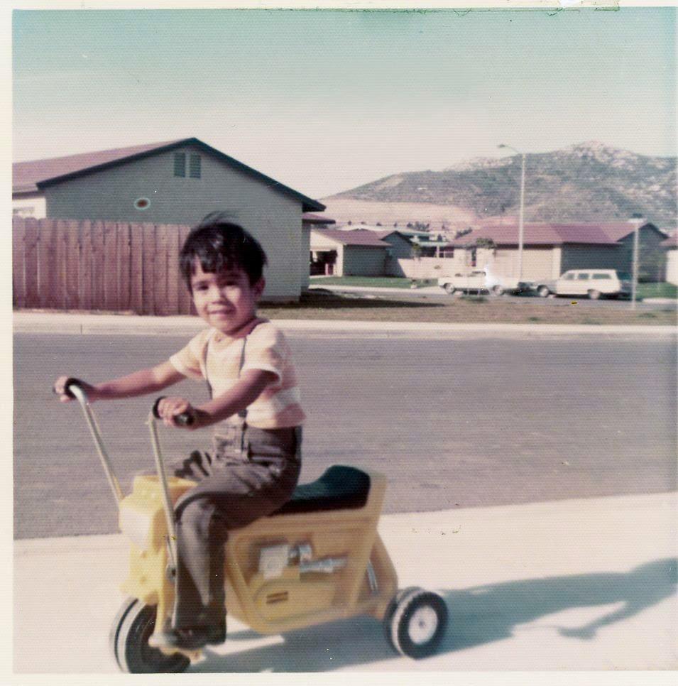My first bike. (So rad!)