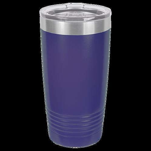 Purple 20 oz Tumbler