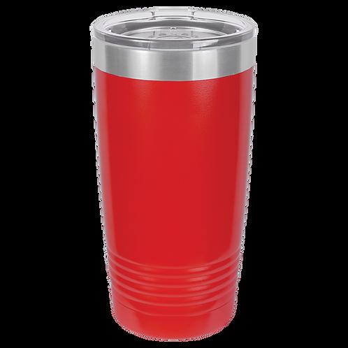 Red 20 oz Tumbler