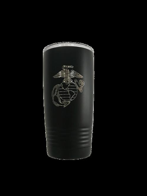 U.S. Marine Corps (EGA) 20 oz Tumbler